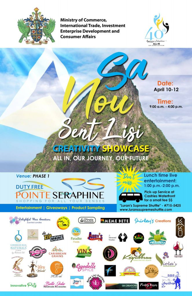 Sa Nou Sent Lisi Creativity Showcase