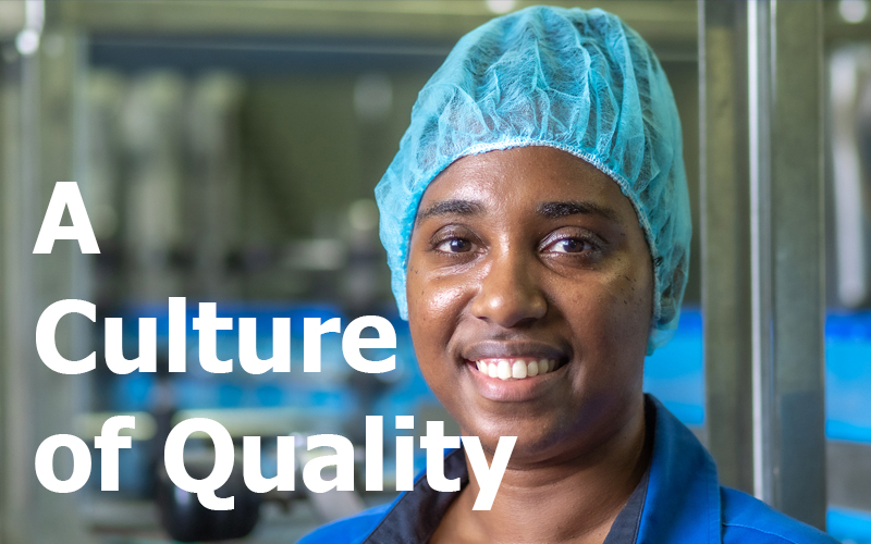 A Culture of Quality